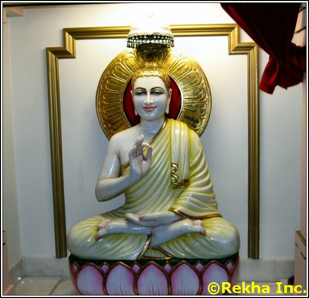 buddha at rajdhani mandir balaji image &copy VAIndia.us