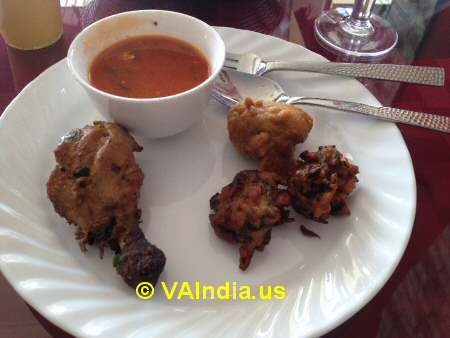 Charminar Ashburn Appetizers and Soup © VAIndia.us
