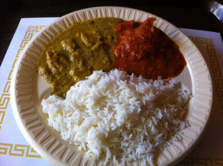 delhi dhaba arlington chicken entrees © VAIndia.us