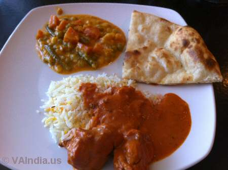 Indian Ocean Centreville Butter Chicken © VAIndia.us