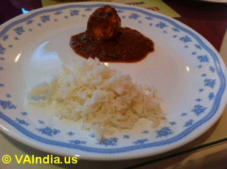 Karaikudi Chettinad Egg Masala © VAIndia.us