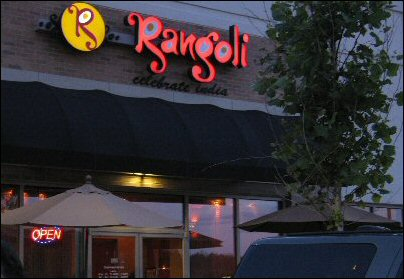 Rangoli Restauranat Review