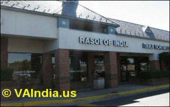 Rasoi of India VA Restaurant