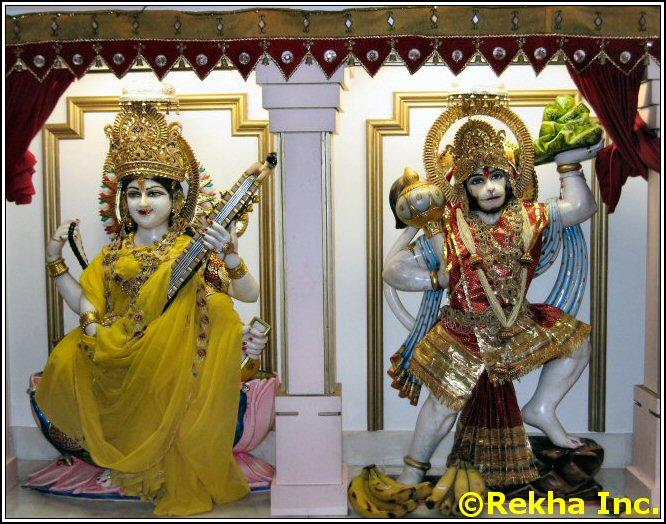saraswathi rajdhani mandir image &copy VAIndia.us