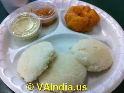 South Indian Idly Vada © VAIndia.us