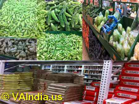 Indian Grocery in Virginia image © VAIndia.us