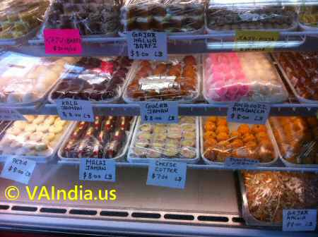 Virginia indian sweets stores for Indian jewelry store richmond va